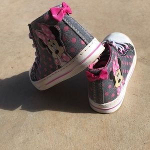 Disney Shoes - Minnie Mouse High Tops Girls FIRM PRICE